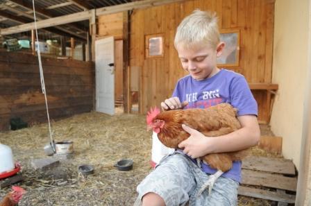 Und wäre ich ein Huhn
